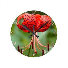Exotic Brilliance Round Wall Clocks