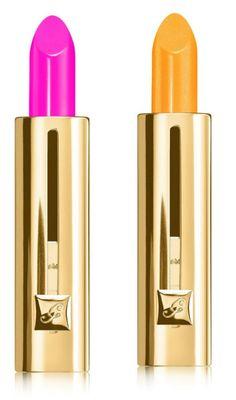 помда герлен лето 2015 guerlain summer 2015 Rouge Automatique Fluo Stiletto Yellow-it Stick