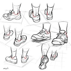 Drawings, Drawing tips, Cartoon drawings, Shoes dr Feet Drawing, Manga Drawing, Figure Drawing, Shoe Drawing, Drawing Reference Poses, Drawing Skills, Drawing Tips, Art Drawings Sketches, Cartoon Drawings