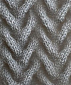 Sand 3 ... STITCHES: knit, purl, slip stitch ... PATTERN: 8 rows ... STITCH NUMBER: multiple of 12 ... NOTE: need cable needle