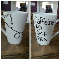 Custom Coffee Mug. Nurse's mug. by LoveItGetItGotIt on Etsy: