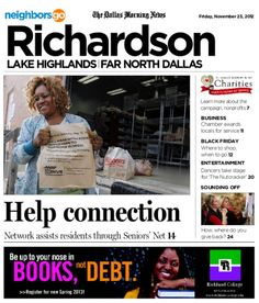 11/23 Cover Story: Network of Community Ministries lends a helping hand to more than 4,000 senior citizens.