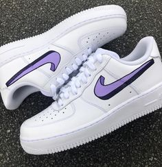 Purple bolded Air Force 1