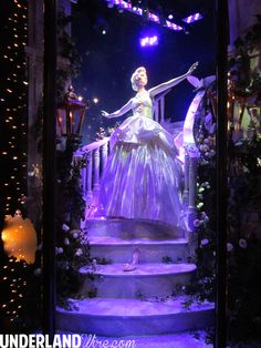 Disney Princess Harrods window display -  Cinderella