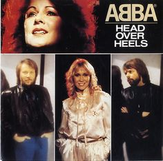 """For Sale - Abba Head Over Heels Netherlands  7"""" vinyl single (7 inch record) - See this and 250,000 other rare & vintage vinyl records, singles, LPs & CDs at http://eil.com"""
