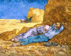 Vincent van Gogh - Noon, or The Siesta, after Millet, 1890