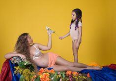 EN IMAGES. Beyoncé enceinte : de nouvelles photos d'un shooting déjà culte