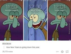 12 New Year's Eve Memes That Are Super Relatable Stupid Funny, Haha Funny, Hilarious, New Funny Memes, Funny Gifs, New Year Meme, Spongebob Memes, Diabolik Lovers, Really Funny