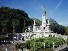 Lourdes France - I want to go!  #lourdes #france