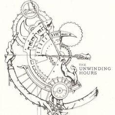 Shop The Unwinding Hours [CD] at Best Buy. Simbolos Tattoo, Gear Tattoo, Body Art Tattoos, Sleeve Tattoos, Clock Tattoos, Watch Tattoos, Steampunk Drawing, Steampunk Design, Tattoo Sketches