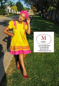 South African Dresses, African Maxi Dresses, Latest African Fashion Dresses, African Dresses For Women, African Wear, African Attire, Pedi Traditional Attire, Sepedi Traditional Dresses, South African Traditional Dresses