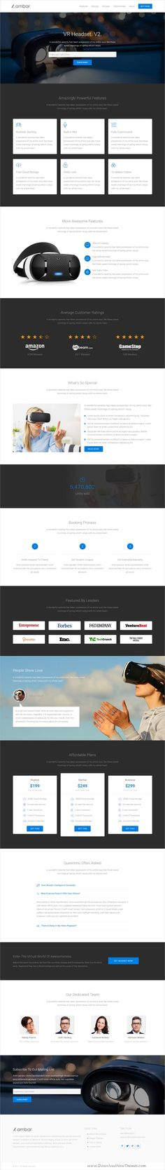 Ambar is a wonderful responsive #HTML5 bootstrap template for a product, #service, agency, marketing or app #landingpage websites with 9+ homepage layouts in light and dark versions download now➩ https://wrapbootstrap.com/theme/ambar-bootstrap-landing-page-template-WB0X4F5B8?ref=datasata
