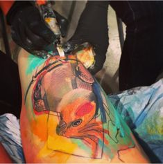 Watercolor tattoos are incredible, but extremely hard to get right.