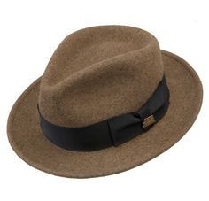 Drape him in a hint of mystery with 150th anniversary edition hat from Stetson