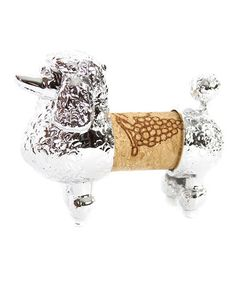 This Poodle Cork Holder by DEI is perfect! #zulilyfinds