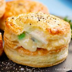 Pie Recipes, Appetizer Recipes, Chicken Recipes, Cooking Recipes, Chicken Pot Pies, Puff Pastry Recipes, Quiche Recipes, Recipe Chicken, Appetizers