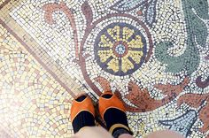shoes mosaic by night.owl, via Flickr