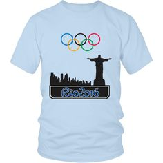 Rio 2016 Olympics Tee 8 Colors Available!