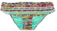 Jessica Simpson Womens Skirted Bikini Swim Bottom Separates