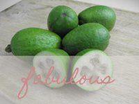 Coconuts feijioa cake