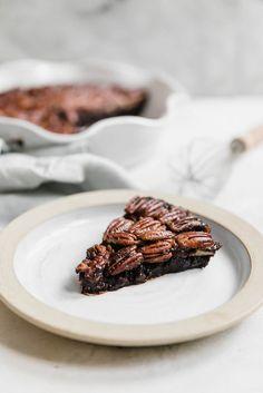 A Brownie Pecan Pie