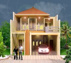 Minimalist House 2 floors - is a beauty who paints houses will be favored by the beauty and shape of a model home. More typical element of making visit http://goo.gl/HziUrY