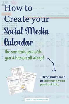 * Are you looking for a quick and easy way to create your social media       calendar schedule?     * Are you interested in a FREE, Time saving method to create and build       your content calendar...for a whole year?  Today is your lucky day! I've got something super awesome sweet for you