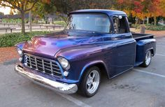 The Barrett-Jackson auction in Scottsdale is the world's best auction for collectible cars Gmc Trucks For Sale, 57 Chevy Trucks, Classic Chevy Trucks, Hot Rod Trucks, Old Trucks, Pickup Trucks, Chevy Stepside, Chevy Pickups, 1955 Chevy