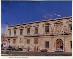 Palacio Almudí en 1979 con dos plantas