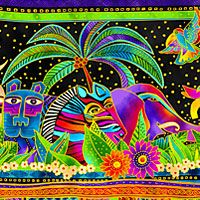 eQuilter Mythical Jungle Pattern
