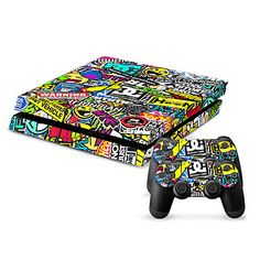 New Protective Sticker Cover Skin for PS4(TN-PS4-0106)
