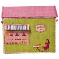 Toy Box Storage Girls City - Cafe - RICE DK