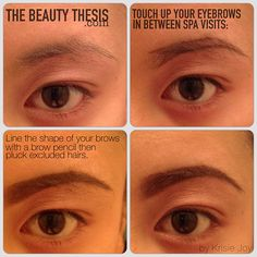 DIY: Brow Touch Up - The Beauty Thesis
