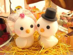 LOVE ANGELS Wedding Cake Topper-love bird via Etsy