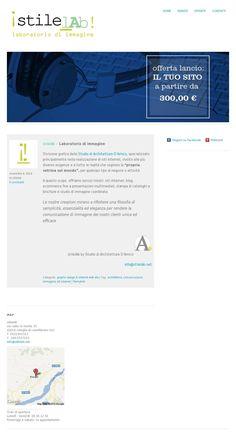 The website 'www.stilelab.net' courtesy of @Pinstamatic (http://pinstamatic.com)