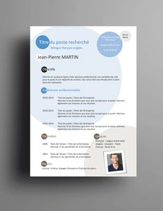 Boarding Pass, Student Resume Template