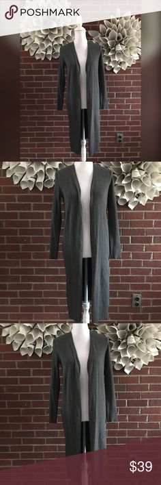 Vince Camuto long Textured Cardigan !Please see photos for all details and measure! This item comes from a smoke free home!! No rips, tears holes or stains to note!! Fast shipping!! Buy confidently!! THANKYOU for looking!! Happy shopping Vince Camuto Sweaters Cardigans