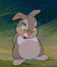 Thumper from Bambi Bambi Disney, Old Disney, Arte Disney, Disney Cartoons, Disney Love, Disney Art, Disney Pixar, Images Disney, Disney Pictures
