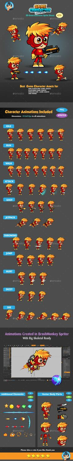 superboy   2D Game Character Sprite Sheets  This assets is for developers who want to create their mobile game apps for IOS and Android games and need Game Enemies Character Spritesheets for their projects.  Best assets for game Like: Shooting game, Running Game,Platform Game, and more side Scrolling games.