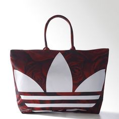 adidas - Mochila Originals Beach Shopper Red Clash Mujer