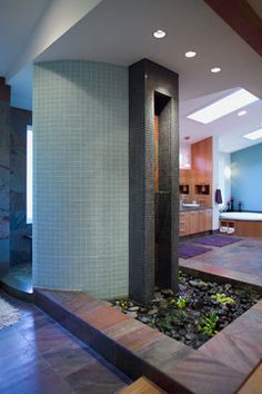 waterfalls in bathroom - Google Search
