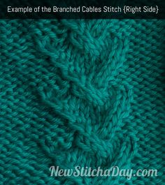Branched Cable Stitch