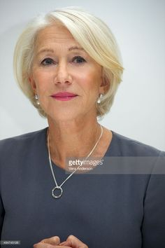 Helen Mirren at the 'Trumbo' Press Conference at the Four Seasons Hotel on October 28, 2015 in Beverly Hills, California.