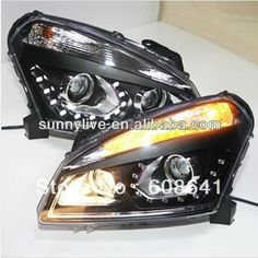419.99$  Buy here - http://aliqy6.worldwells.pw/go.php?t=1467380684 - Qashqai LED Head Lamp for NISSAN 2008-12 TLZ