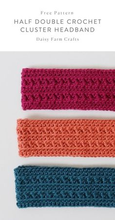 Most current Photographs double Crochet headband Thoughts Kostenlose Anleitung – Half Double Crochet Cluster Headband, Easy Crochet Headbands, Crochet Gifts, Diy Crafts Crochet, Lace Headbands, Crochet Stitches Patterns, Knitting Patterns, Free Crochet Headband Patterns, Doll Patterns, Free Knitting