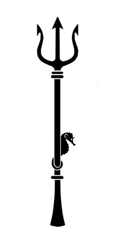 This is Poseidon's trident. This is important in the book because Percy's father is Poseidon. On his cabin there is Poseidon's trident. Poseidon Tattoo, Poseidon Trident, Future Tattoos, New Tattoos, Cool Tattoos, Tattoos Pics, Sweet Tattoos, Skull Tattoos, Tatoos