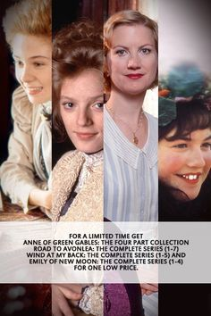 The Sullivan Heroine Set - Anne: Four Part Collection, Road To Avonlea, Wind At My Back and Emily of New Moon (Complete Series) - Gift Sets - Gifts - ShopAtSullivan.com