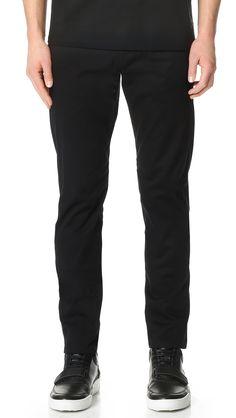 ALEXANDER WANG Five Pocket Tailored Trousers. #alexanderwang #cloth #trousers