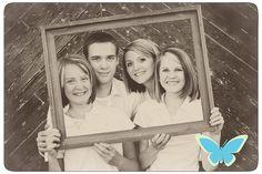 Cool family portrait idea