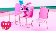 How to Make Cute DIY Miniature Chairs for LPS/Calico? /Tutorial